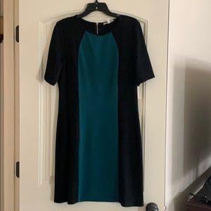Dress- color block